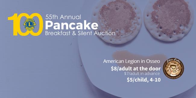 Lions Pancake Breakfast 2018