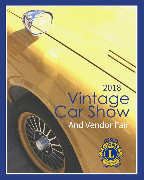 Lions Spring Car Show 2018