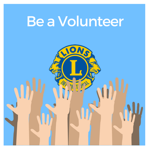 Become a Lions volunteer