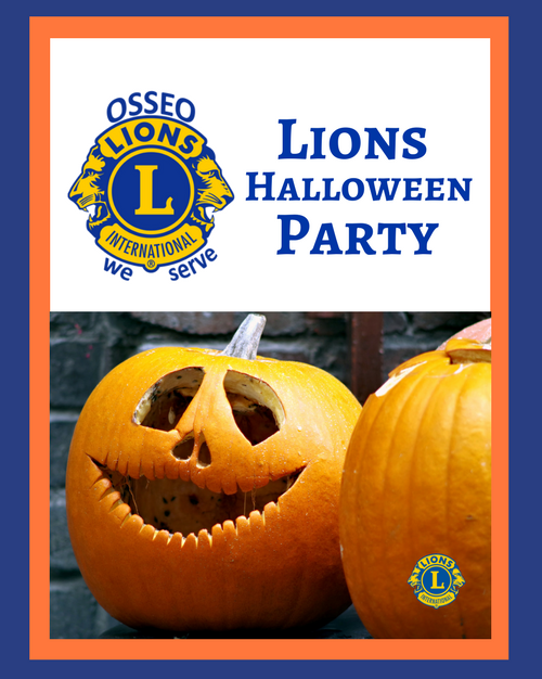 Lions Halloween Town