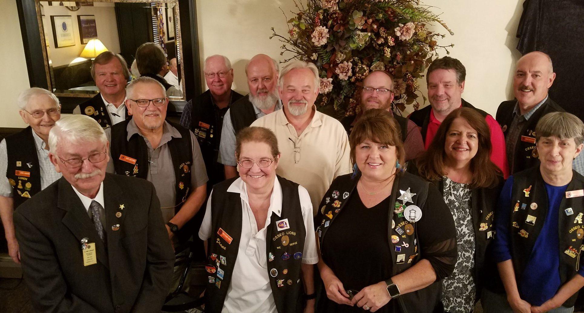 2018 Osseo Lions Board Members