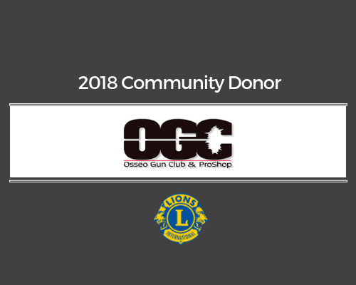Lions 2018 Donor - Osseo Gun Shop & Proshop