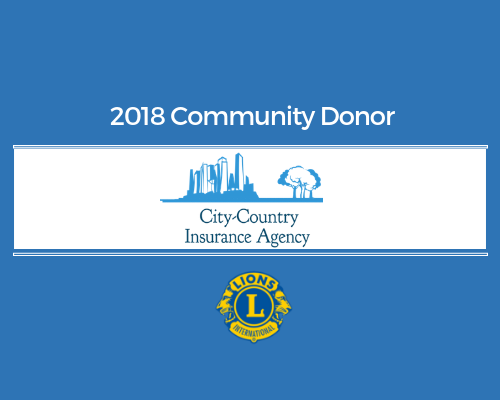 Lions 2018 Donor - City Country Insurance