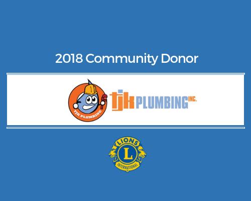 Lions 2018 Donor - tjk plumbing