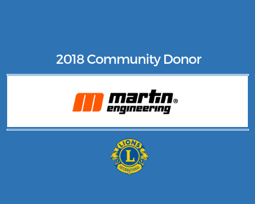 Lions 2018 Donor - martin engineering