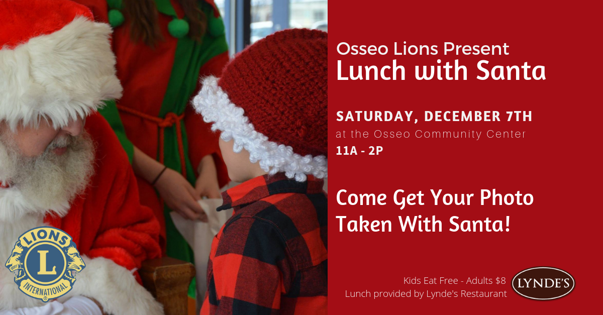 Lions Lunch with Santa