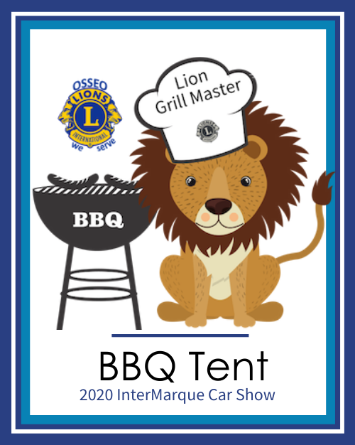 Lions Spring BBQ Tent