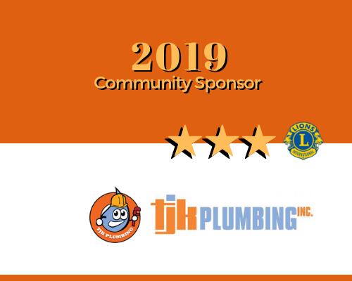 2019 ROAR Sponsor tjk plumbing