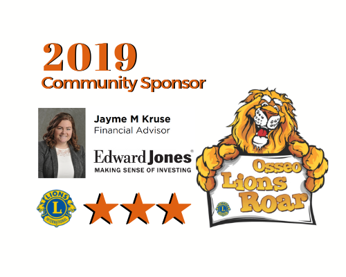Edward Jones, Jayme Kruse, 2019 Sponsor