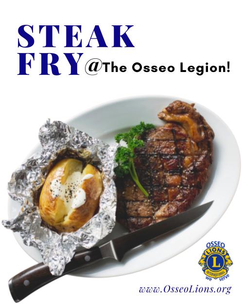 Osseo Lions Steak Fry