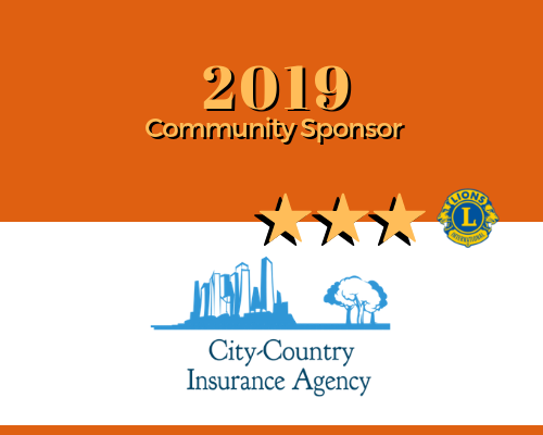2019 Lions Roar Sponsor - City Country Insurance