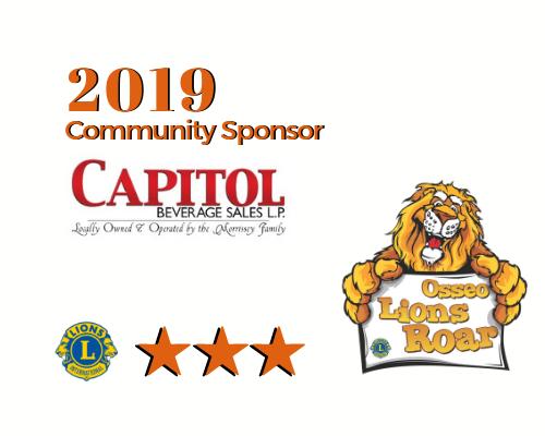 2019 Lions Roar Sponsor - Capitol Beverage