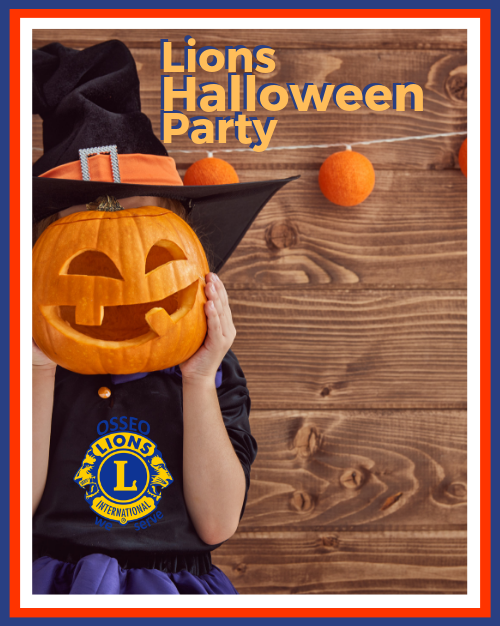 Lions Halloween Party 2019