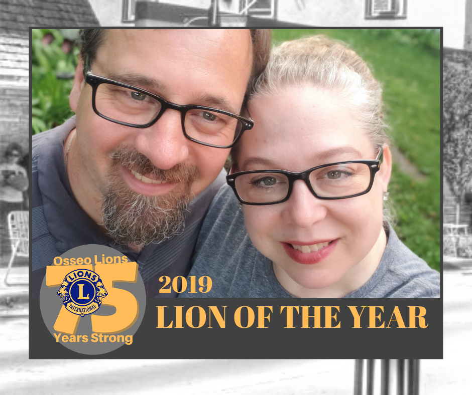 2019 Osseo Lion of the Year -Lion Tanya Troska
