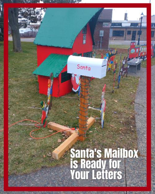 Santa's Mailbox Ad Box - Osseo Lions 2020