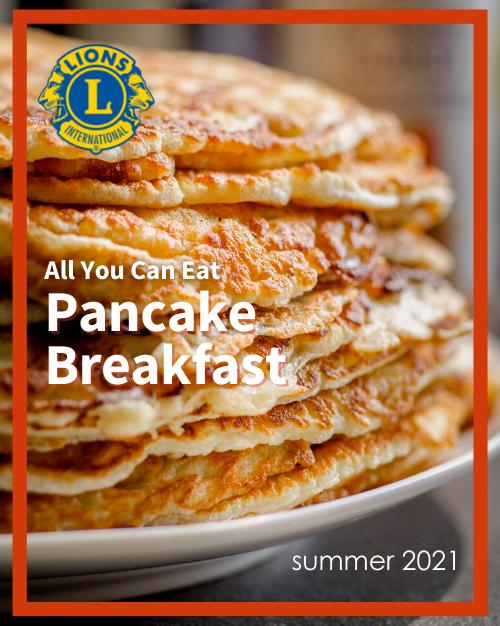 Summer 2021 Pancake Breakfast